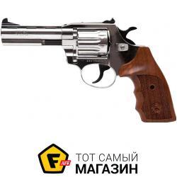 Пневматический Пистолет Alfa 441 4 мм никель/дерево (144919/2)