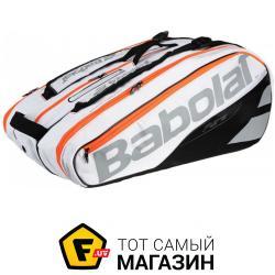 d658fbdca7fb Спортивная Сумка Babolat Racket Holder X 12 Pure white (751161/101 ...