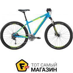 Велосипед Bergamont Roxter 5.0 2017 27.5 голубой/неоново-желтый матовый 14 (251972005) 2019