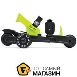 Роликовые Коньки Cardiff Skate Cruiser Lime Black/Green (KL-001) 2019