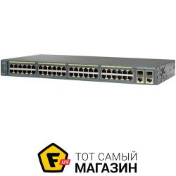 Коммутатор Cisco Catalyst 2960 Plus (WS-C2960+48PST-L)