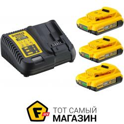 Зарядное Устройство Dewalt DCB115D3