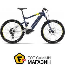 Электровелосипед Haibike Sduro FullSeven 7.0 2018 27.5 темно-синий/желтый 19 (4540130848)