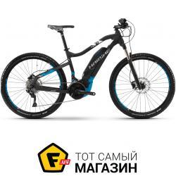 Электровелосипед Haibike Sduro HardSeven 5.0 2018 27.5 черный/синий 18 (4540034845) 2019