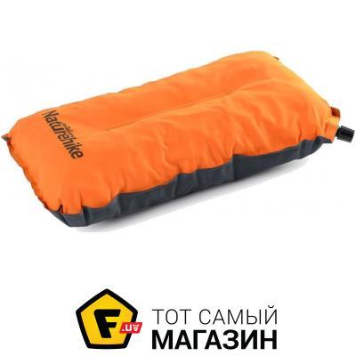 Надувная подушка Naturehike Auto Inflated Sponge Pillow orange (NH17A001-L)