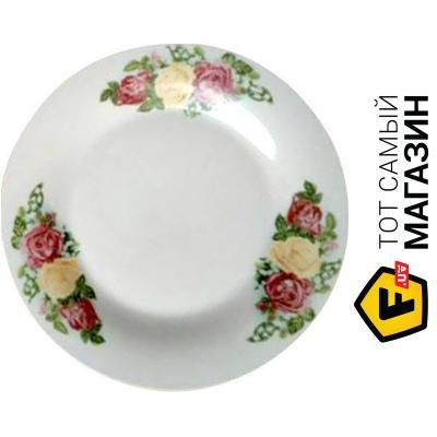 Тарелка десертная S&T Букет 20.3см, 12шт. (30001-308)