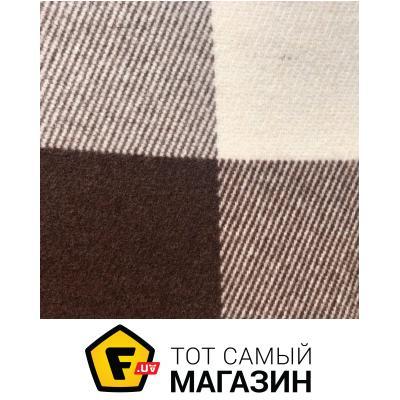 Плед Vladi Эльф 140x200см, белый/бежевый/коричневый (4028)