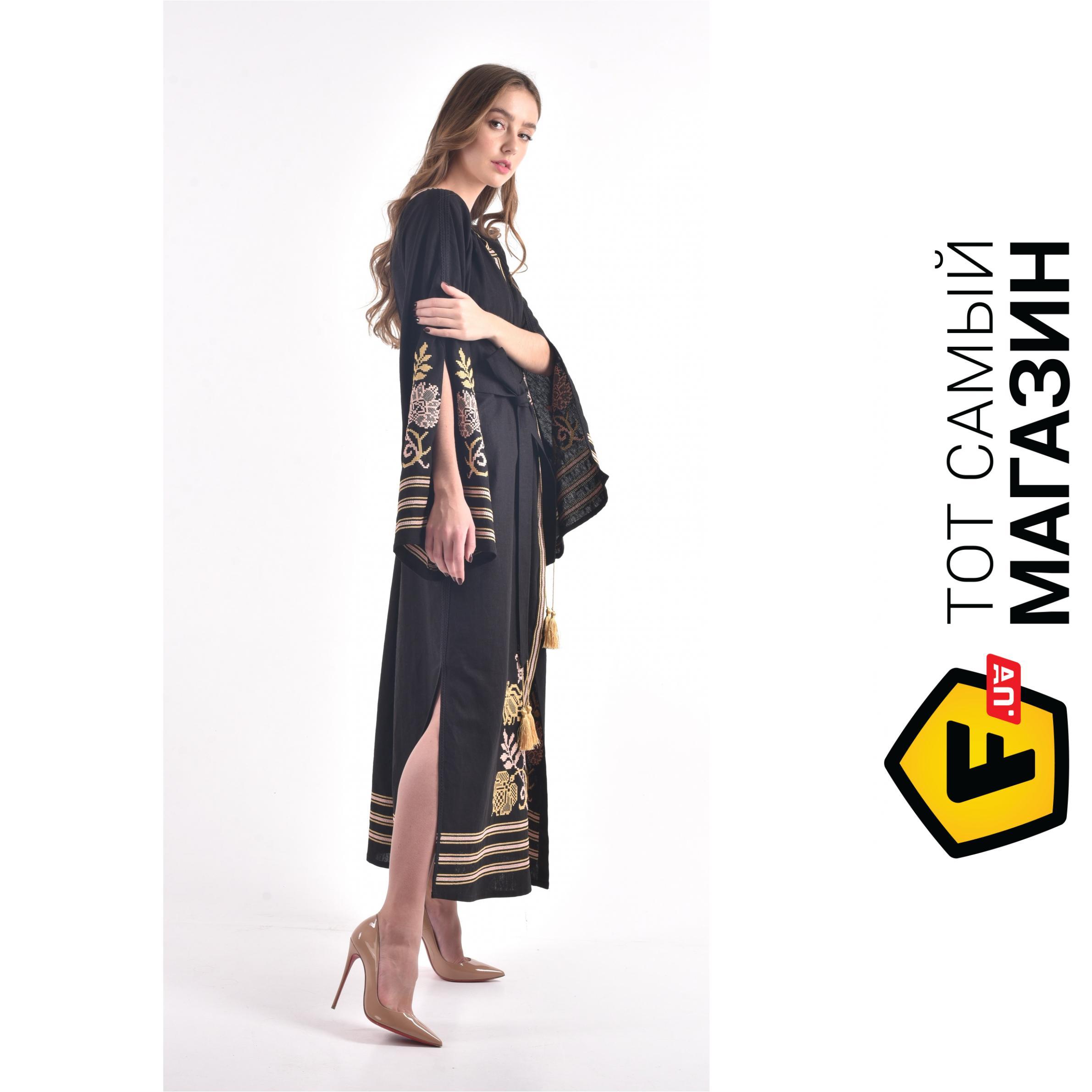 22e5a14a2e6 ᐈ Платье-вышиванка 2KOLYORY ``Княжна`` M-L Черный ~ Купить  ЦЕНА ...
