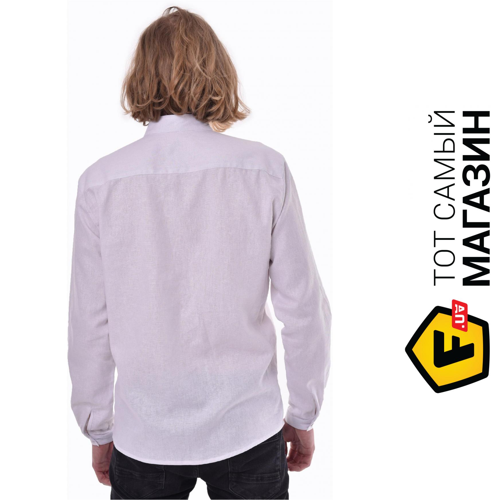 d25514178e7 ᐈ Вышитая мужская сорочка 2KOLYORY Шепіт L Белый ~ Купить  ЦЕНА ...