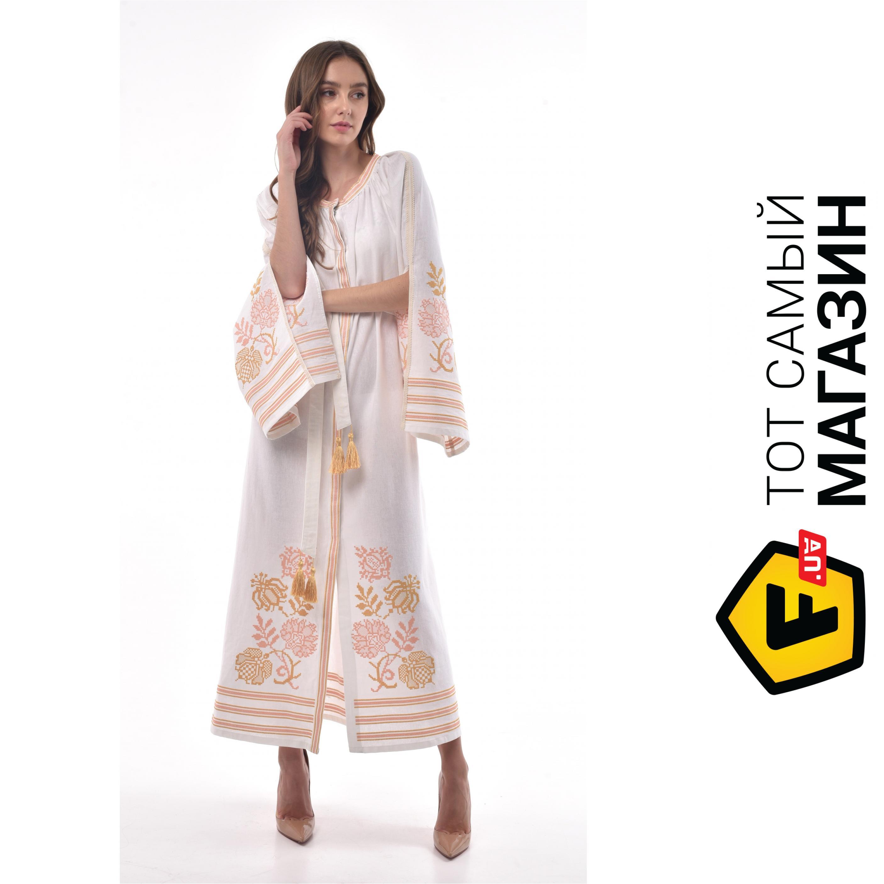 cd130ac7290c224 ᐈ Платье-вышиванка 2KOLYORY ``Княжна`` XS-S Белый ~ Купить? ЦЕНА ...