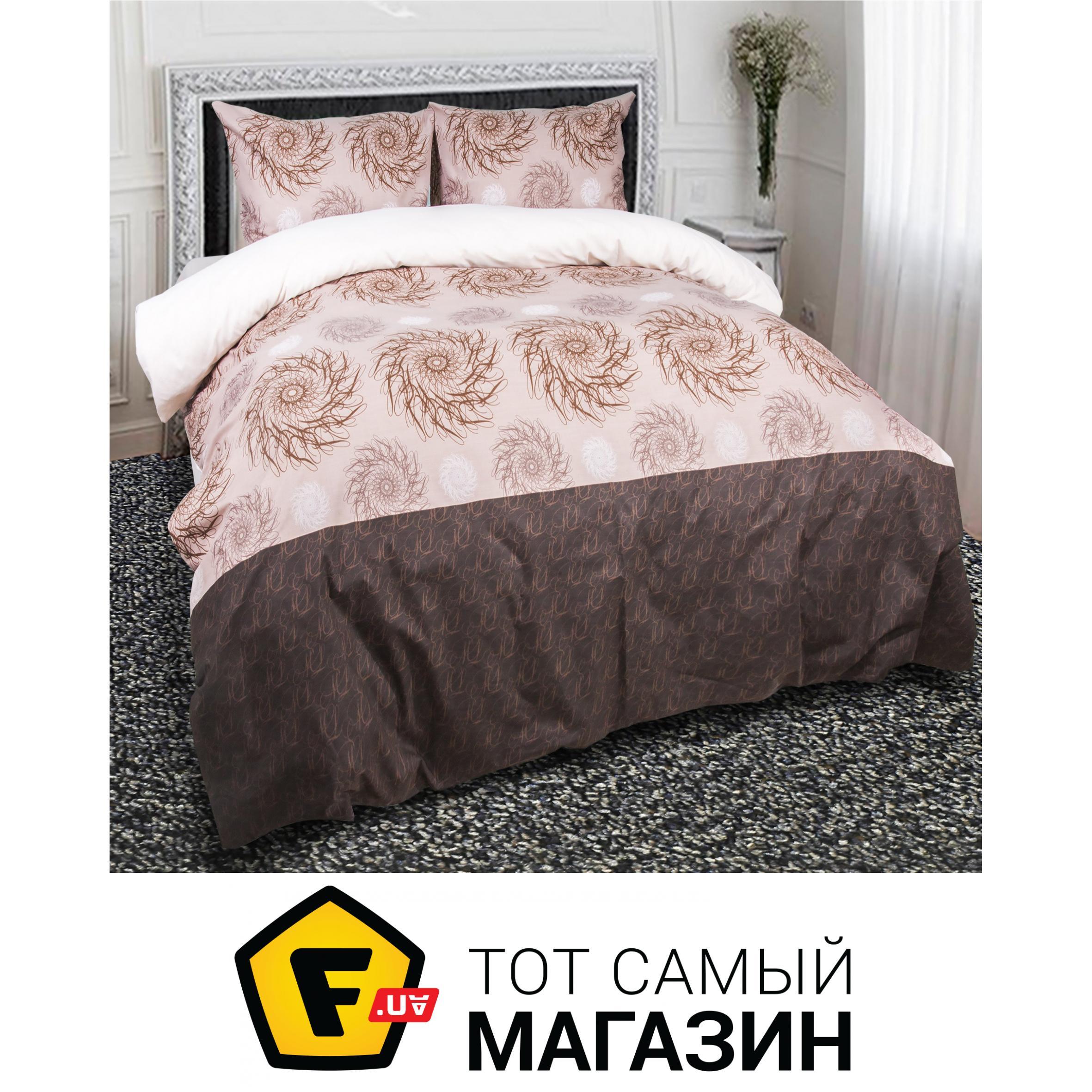 6f453a557ad7 Комплект постельного белья полуторный 150x215 см хлопок кофейный ТЕП Шейла,  полуторный (956)
