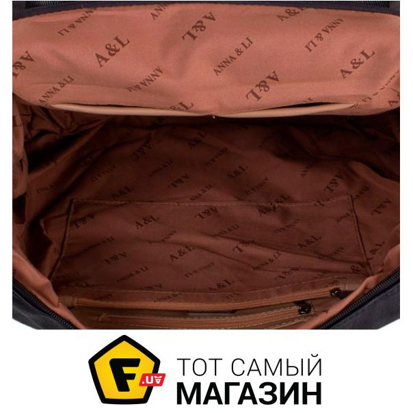 64c21626589a ... Дорожная сумка Anna&Li TU13615 black Высота: 36 см, 4 из 5 ...