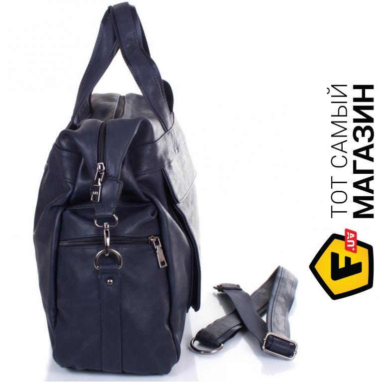 cda2fbf3171b Дорожная сумка Anna&Li TU13615 navy Материал: искусственная кожа, 3 из 5