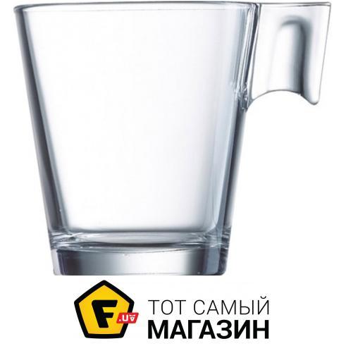 Чашка Arcoroc для кофе 80 мл — 1 шт  — ударопрочное стекло цвет прозрачный