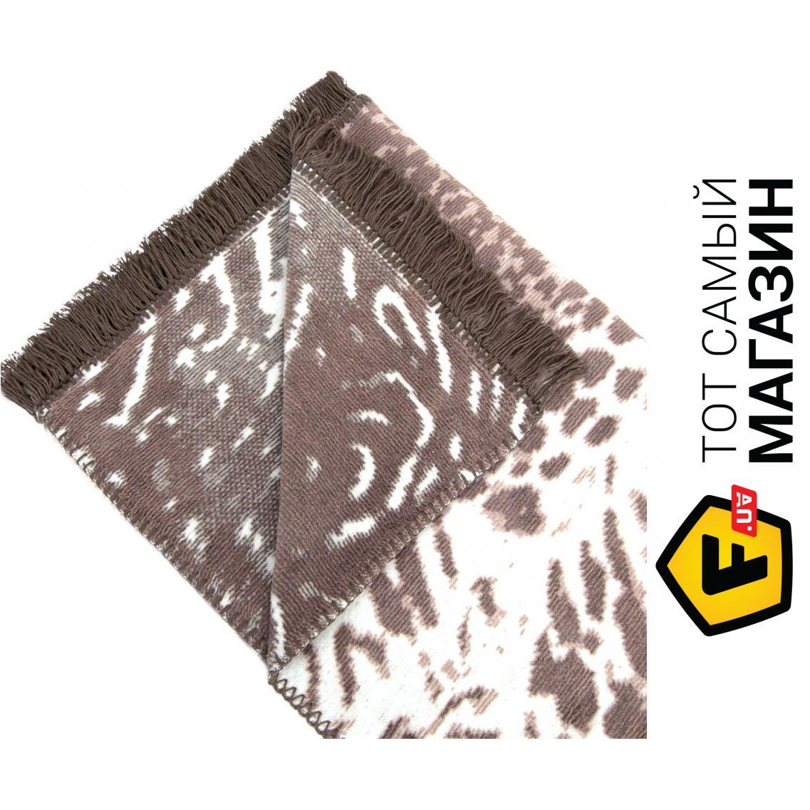 Плед двуспальное 220 x 200 см легкое коричневый Arya Плед Arya ... 9c076014ca01d