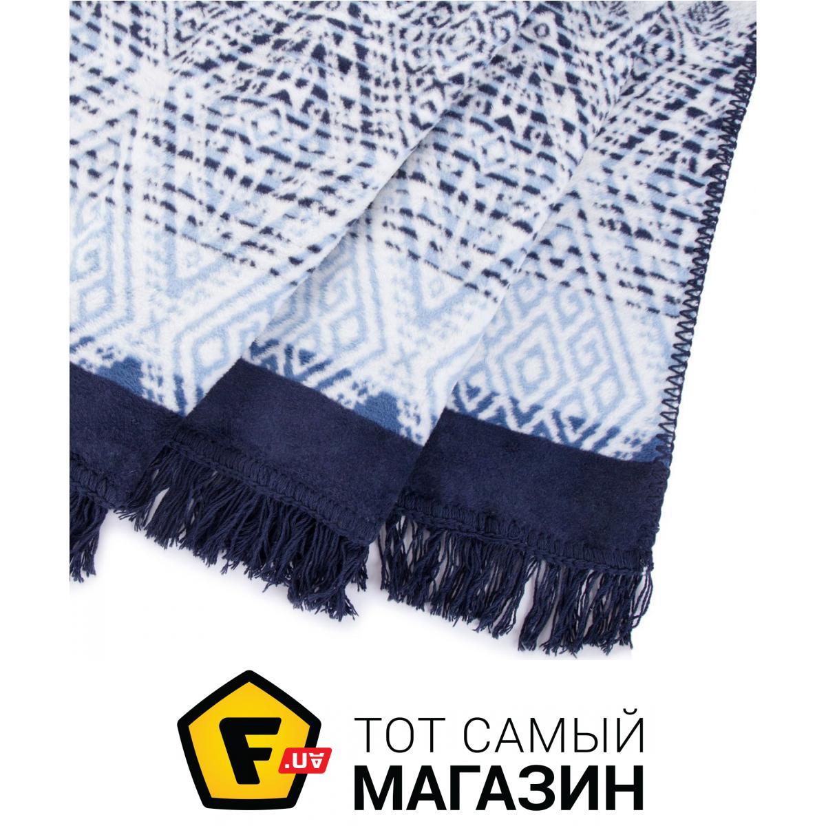 Плед двуспальное 220 x 200 см легкое синий Arya Плед Arya Бавовна ... 675256e8347e1
