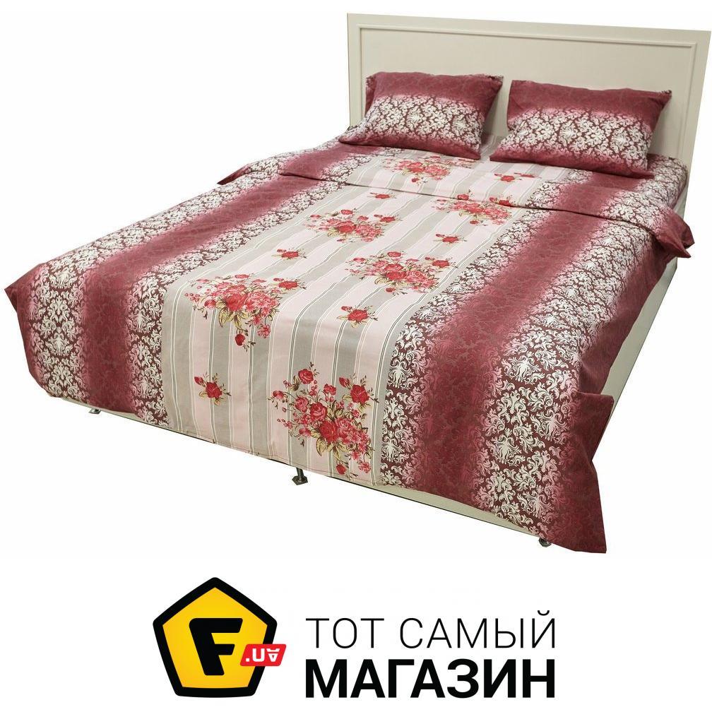 Комплект постельного белья двуспальный 200x220 см хлопок бордовый Arya Постільна  Білизна Rigel Ранфорс 2 Сп. 200X220 Троянди ... c9cbb2ff840f0