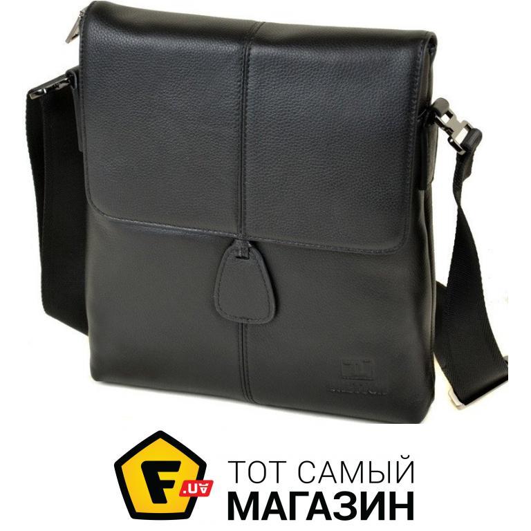 6a7daa38bb8b ᐈ BRETTON Мужская кожаная сумка BE 3503-3 black ~ Купить? ЦЕНА ...