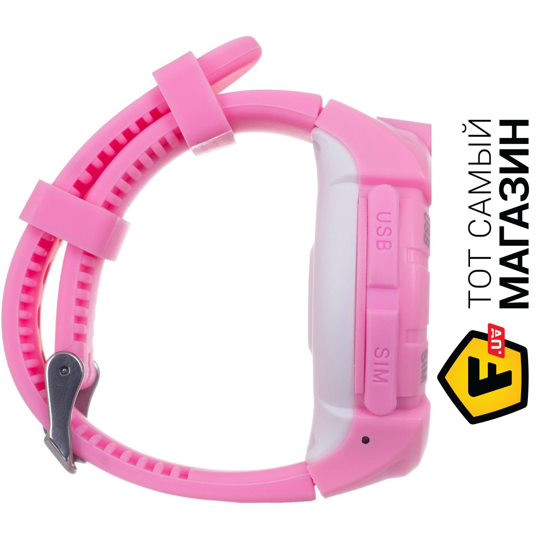 Детские смарт-часы Ergo GPS Tracker Color C010 Pink Интерфейсы подключения   USB 3bf461fccdbef