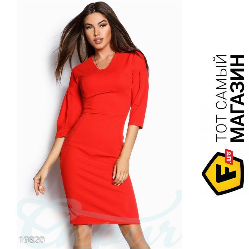 4c9c94f35b2 ᐈ GEPUR Красное платье Илайн