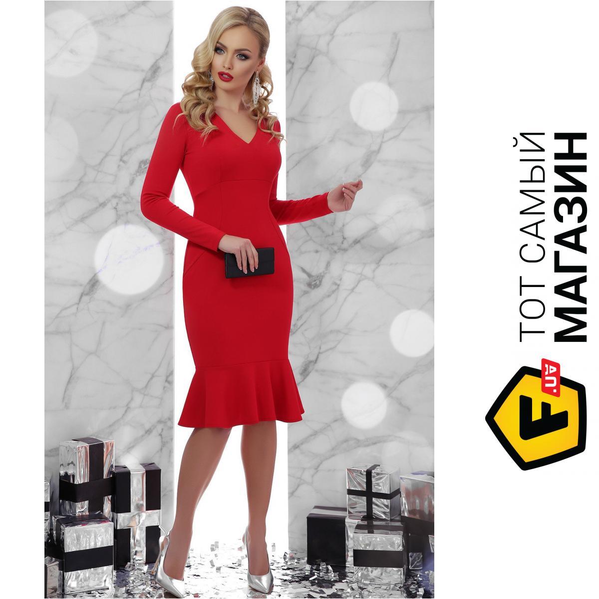 baac10b3440e0 ᐈ Платье GLEM Василина L Красный (GLM-pl00007) ~ Купить? ЦЕНА ...