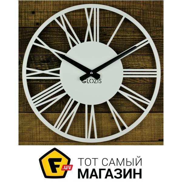 3df3c53e Настенные часы Glozis Настенные Часы Glozis Rome 35х35 см Белый (B-023) —  механизм стрелочный кварцевый (электронный) — питание