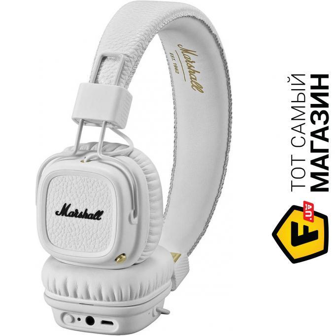 ᐈ MARSHALL Major II Bluetooth White (4091794) ~ Купить  ЦЕНА ... 4b982a32fb0f9