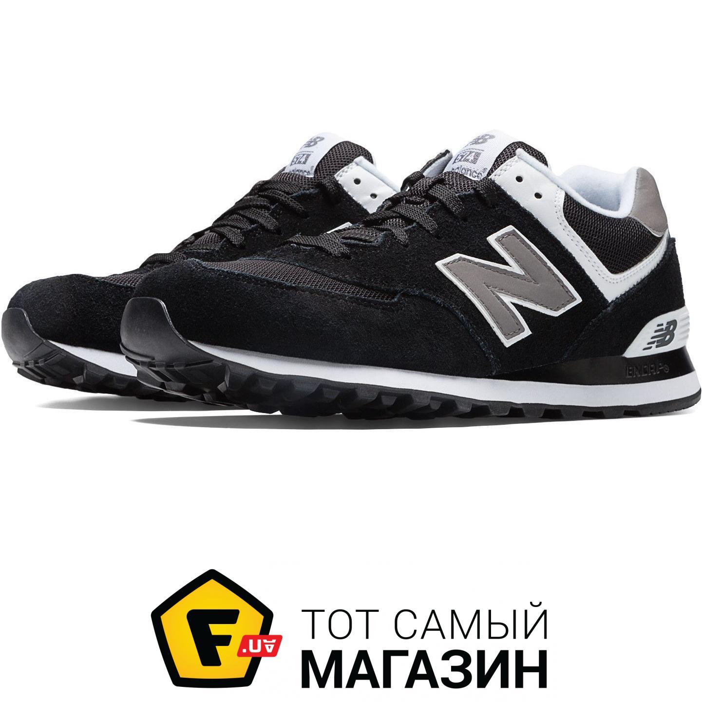 Кроссовки New Balance 574 Classics Black with Grey   White 87a19e97c0701
