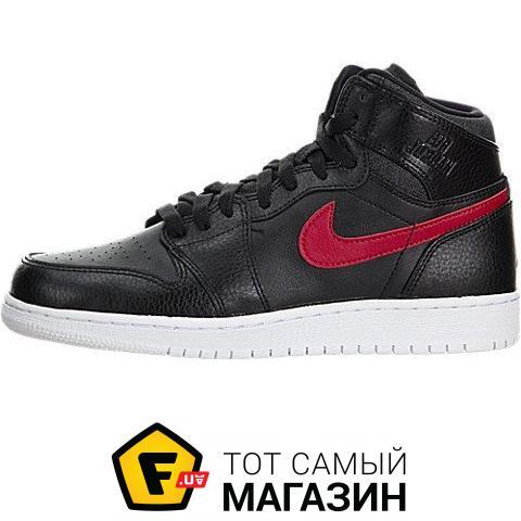 8e28421e573b Nike Air Jordan 1 Retro High BG 8.5 US, black (0091204143051)