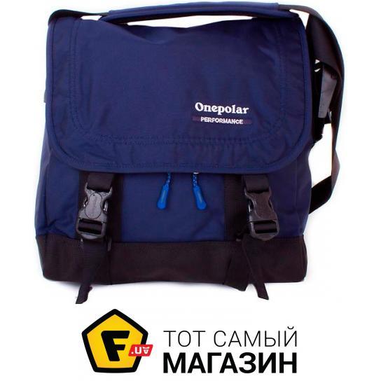 Сумка Onepolar — полиэстер — стиль мужской спортивный оригинал синий ... 0d4f2e38e9afe