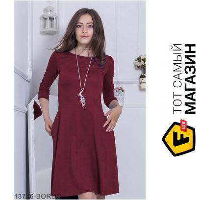 4068d171373 ᐈ PODIUM Женское платье Fenberries Бордо