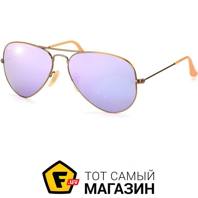 Солнцезащитные очки Ray-Ban Aviator Flash Lenses Сиреневый (RB3025 167 4K) 3c1660cb1ff7a