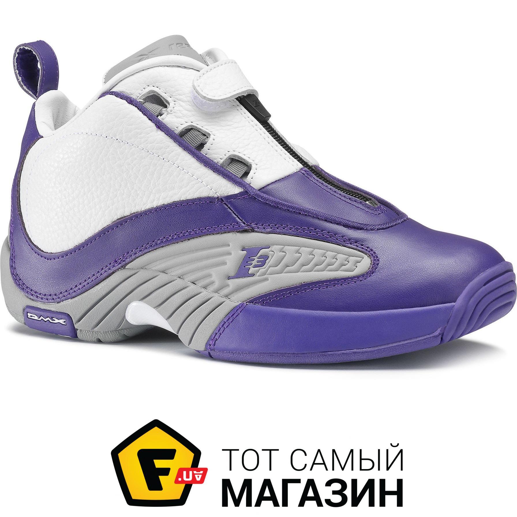 2b8f64c3 ᐈ REEBOK Answer IV PE мужские Team Purple / Flat Grey / White, 13 ...