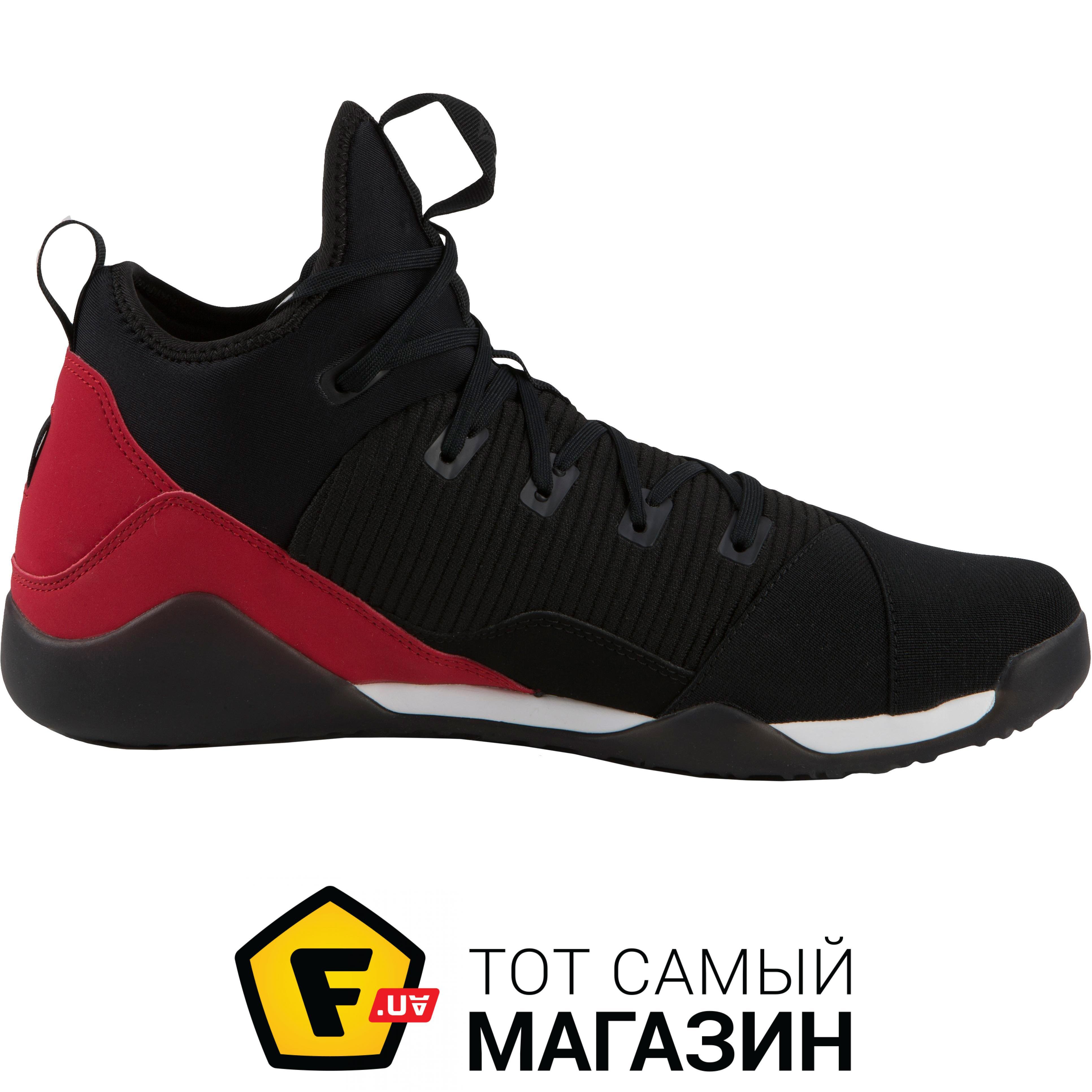 7034b9c4885878 Reebok Combat Noble Mid Boxers 42.5, черный/красный (REBD2) Размер EU:
