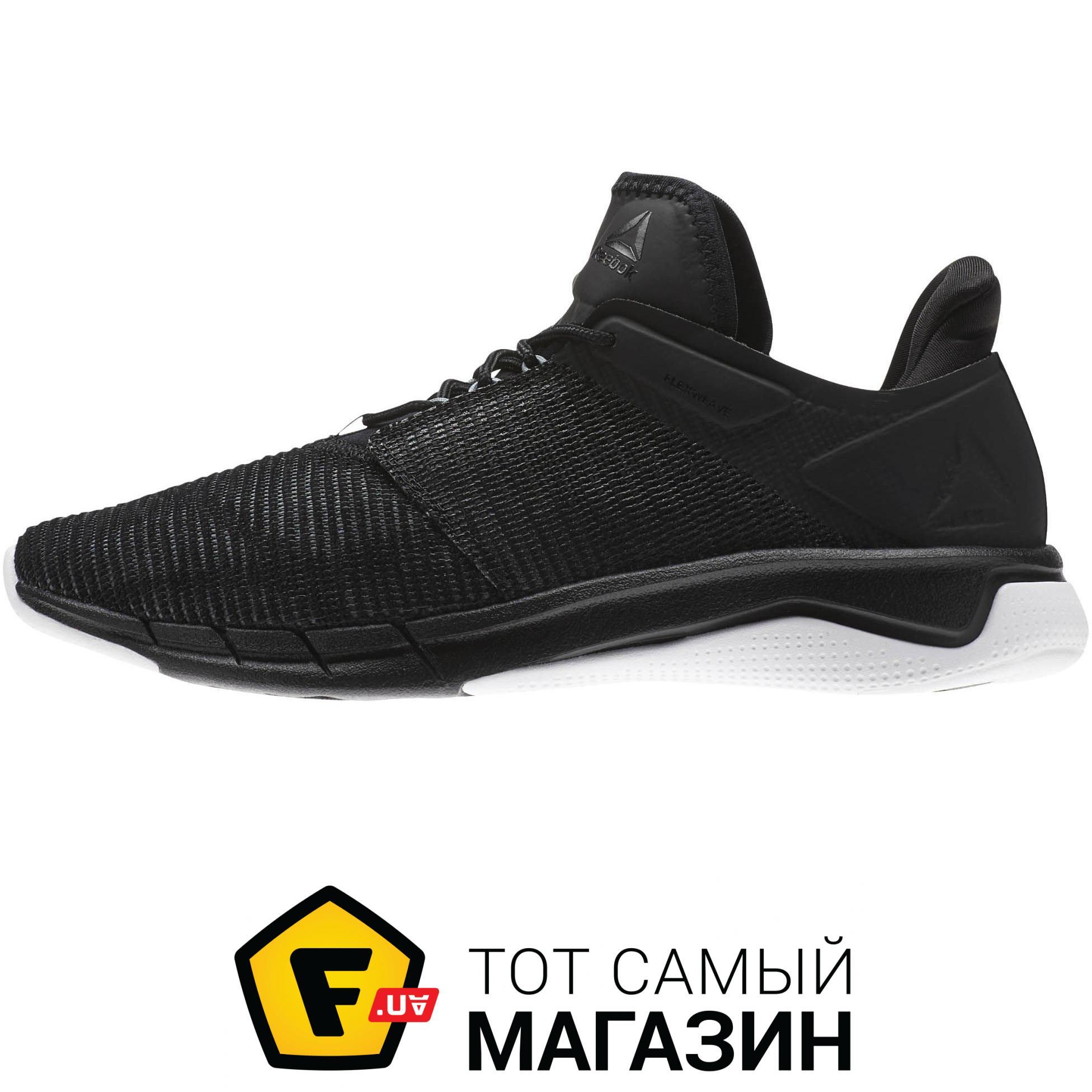 67c108abae1589 ... Кроссовки Reebok Fast Flexweave™ женские Black / Coal / Flint Grey /  White, 8.5 ...