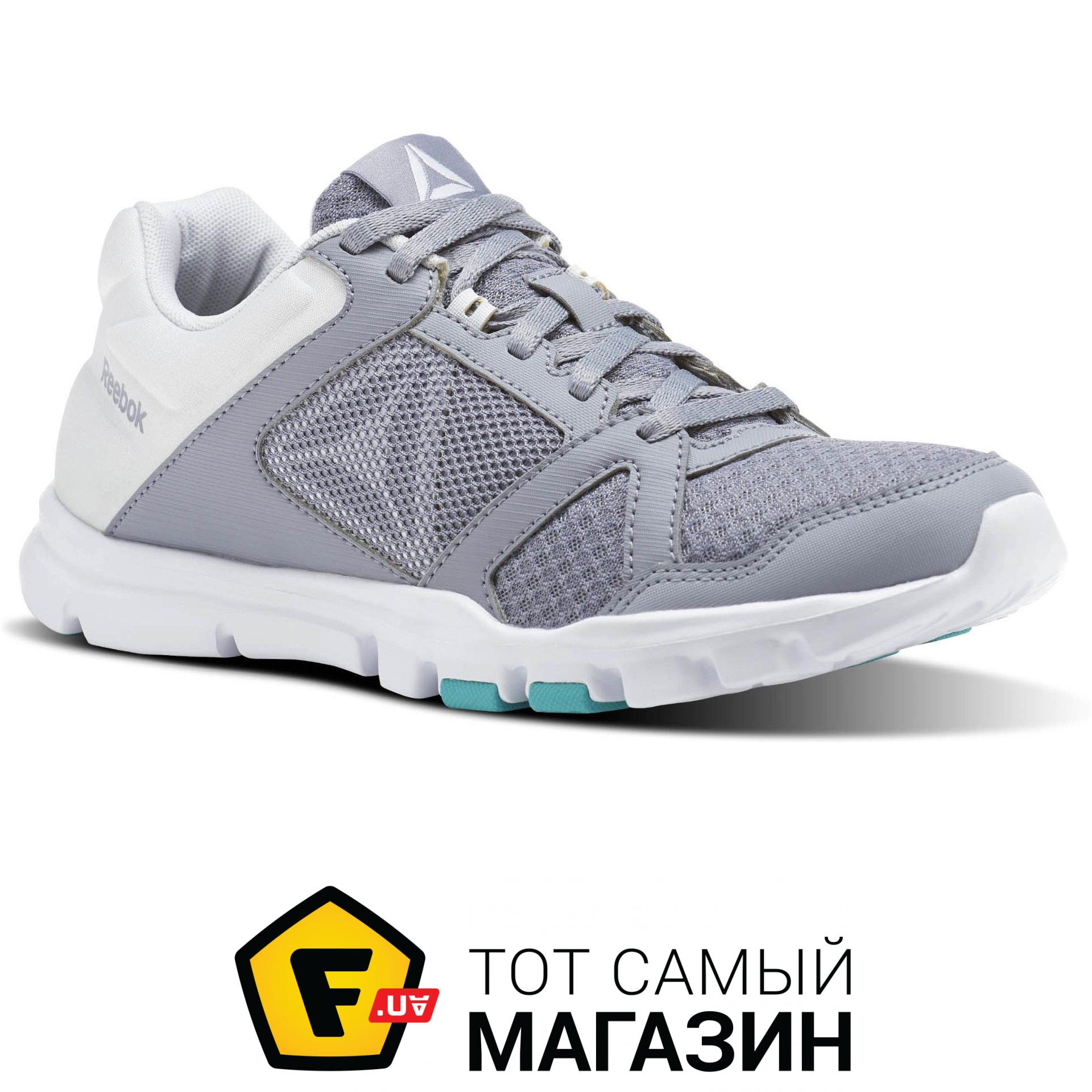 929a40a4 Reebok Yourflex Trainette 10 MT женские Cool Shadow / White / Solid Teal, 6