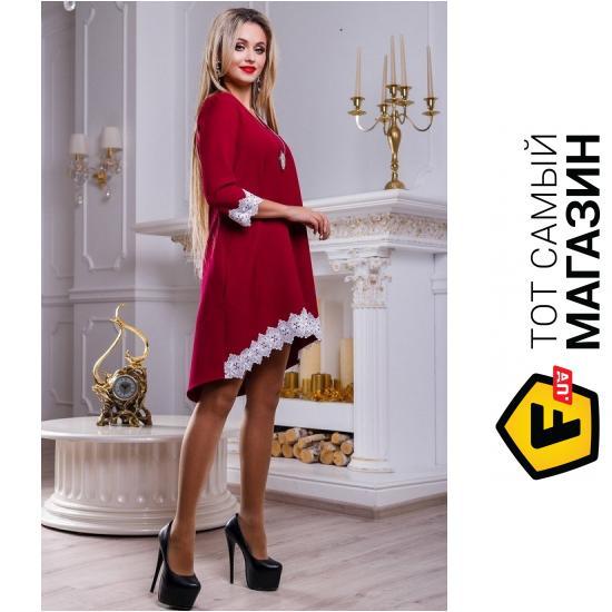 7cb13d0585e2815 ᐈ SEVENTEEN Бордовое платье Беа, размер 42 ~ Купить? ЦЕНА Снижена ...