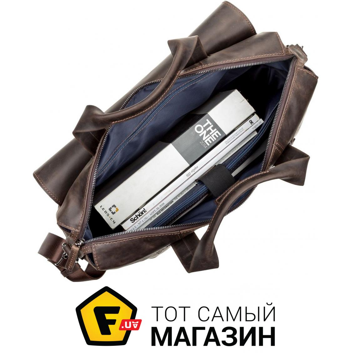 c68ae1c6676c ᐈ Дорожная сумка SHVIGEL Коричневый (11119) ~ Купить? ЦЕНА Снижена ...