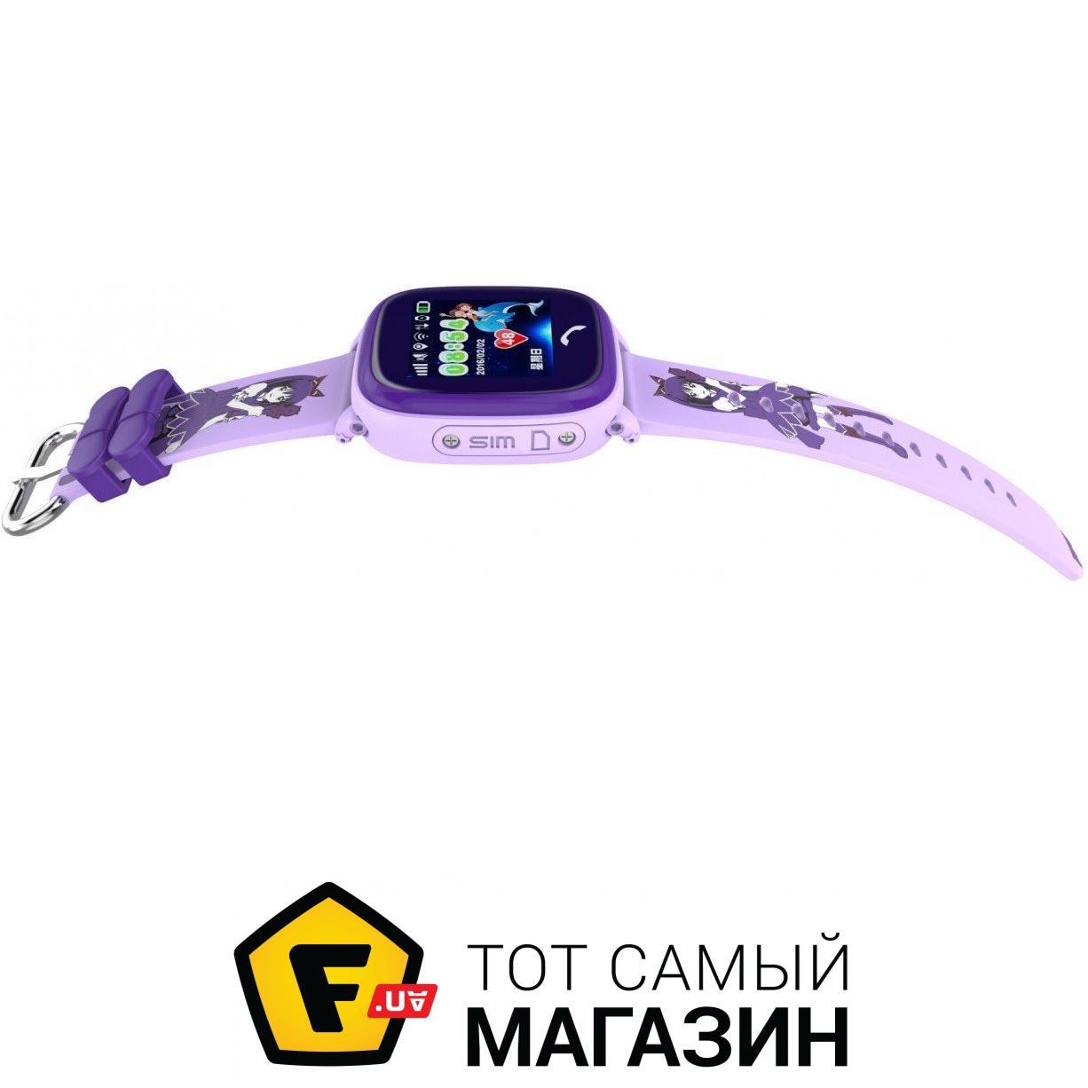 ᐈ SMART BABY WATCH Aqua Q300-DF Фиолетовые ~ Купить  ЦЕНА Снижена ... 93b775b237637