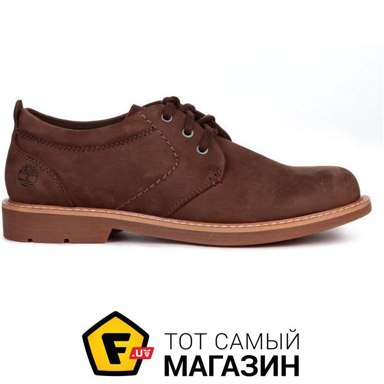 a9d6e6ffc980 Timberland Мужские туфли Hartwick Plain Toe Oxford Brown размер 43  (115382-43)