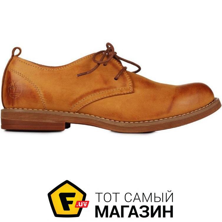 eb5a9355c413 Timberland Мужские туфли Hartwick Plain Toe Oxford Grey Yellow размер 41  (115428-41)