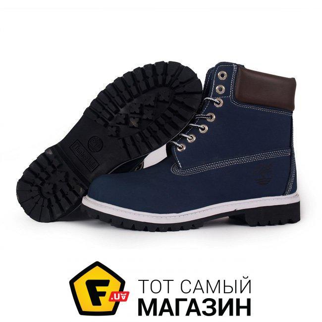 Мужские ботинки Timberland 6 Inch Blue Brown Boots размер 42 (111284-42) 2fa199d1a57f5