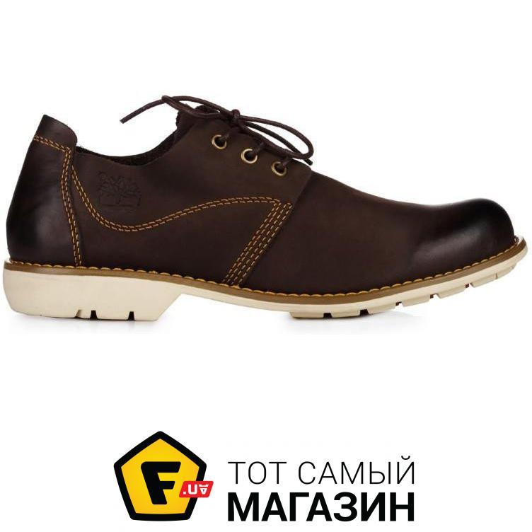 99e390fd940e Мужские туфли Timberland Hartwick Plain Toe Oxford High Brown размер 42  (116929-42)
