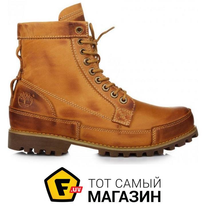 Мужские ботинки Timberland Rugged High Yellow с мехом размер 42 (114735-42) 14374ded70153