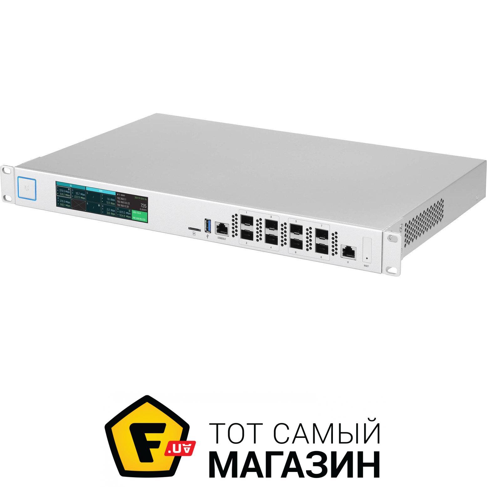 Маршрутизатор Ubiquiti UniFi Security Gateway XG (USG-XG-8)
