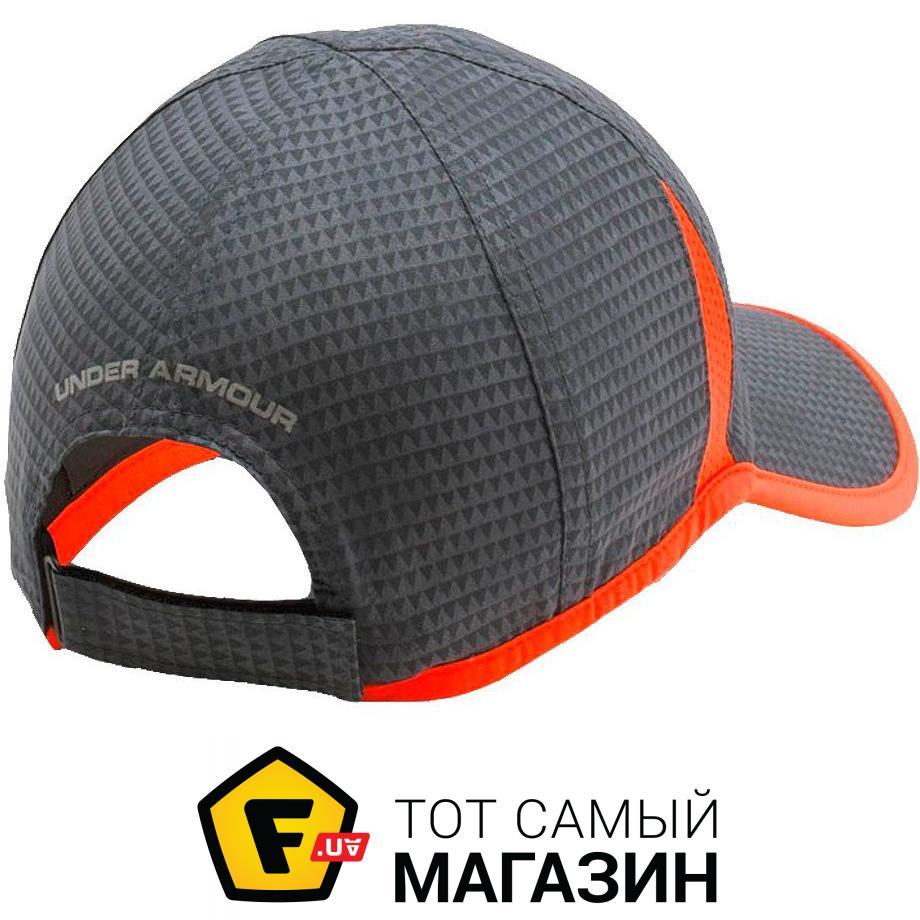 6ac32b34775 Кепка Under Armour Mens Shadow Cap 4.0 grey/orange (1291840-040) Тип