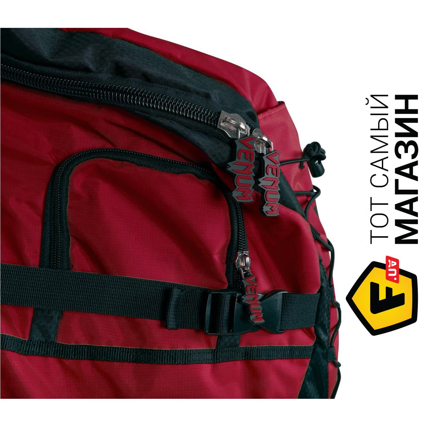 e5a8dd2c0e41 Venum Challenger Xtrem Backpack, черный/красный (HK-VENUM-2124)