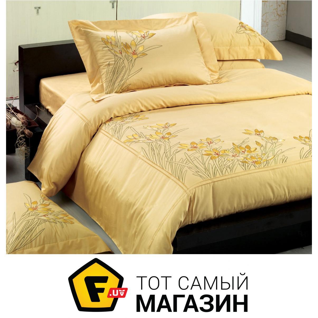 Комплект постельного белья семейный 150x215 см хлопок желтый Word of Dream  ВВ079 (семейный) 5ef6decdb27dc