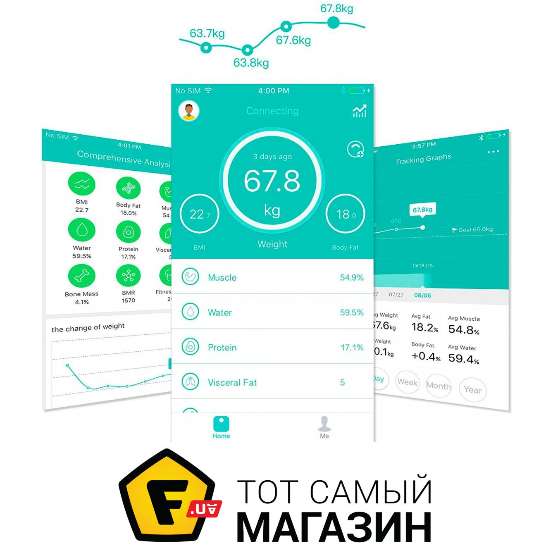 Yunmai Mini Smart Scale White (M1501-WH) Точность измерения веса  100 грамм 0f7300c31ce