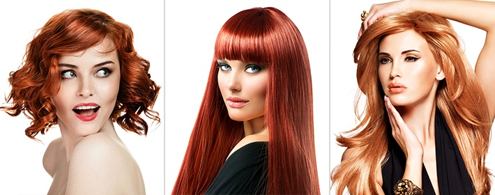 как правильео подобратб йвет волос